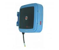 """Carretel Automático Blindado Samoa Azul Sem Mangueira 3004-AZ até 12 Metros de Mangueira Ø 1/2"""""""