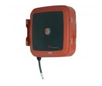 """Carretel Automático Blindado Samoa Vermelho 3004-VRA15 Com 15 Metros de Mangueira Ø 1/4"""""""