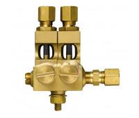 Conjunto de Conexões e Válvulas Trico 4546-02 com 02 Pontos 1-4Pol