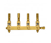 Conjunto de Conexões e Válvulas Trico 4546-04 com 04 Pontos 1-4Pol