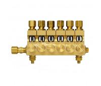 Conjunto de Conexões e Válvulas Trico 4546-06 com 06 Pontos 1-4Pol