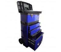 Carro para Ferramentas Tipo Trolley com 2 Módulos Beta C41H-B Azul