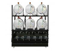 Sistema de Armazenamento Transferência e Filtragem Standard Lupus 5543 ISO 460 06 Reserv Polietileno