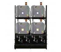 Sistema de Armazenamento Transferência e Filtragem Professinal Lupus 5544 ISO 460 04 Reserv Metal