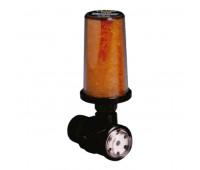 Filtro Dissecante Trico 5729 Entrada 1-2Pol NPT-Macho com Visor 3D