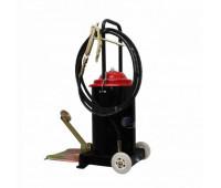 Bomba Manual Pedal com Carrinho Premium Wolflube MLP-7012W-P com Reservatório de 8 Kg