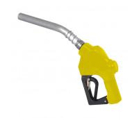 """Bico de Abastecimento Automático OPW MIX-7HL-AM Amarela Entrada e Ponteira 30 Cm 1"""" (Ponteira Longa)"""