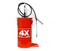 Bomba manual para graxa Hydronlubz 8485 com reservatório para 14 Kg