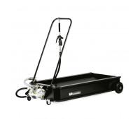 Coletor Tipo Carrinho Pequeno com Bomba Pneumática Lupus 9003-CP Capacidade 95 Litros