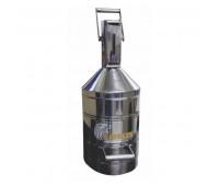 Aferidor em Aço Inoxidável Polido Lupus MLP-9004-AR com Capacidade de 20 Litros Arla 32