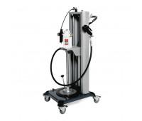 Elevador Móvel Pneumático para Compactação de Graxa 9110-VS Adapt tambor de 20 Kg