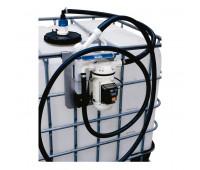 Unidade de Abastecimento Básica 12V Piusi 9166 30LPM Capacidade 1000 Litros com Bico Manual