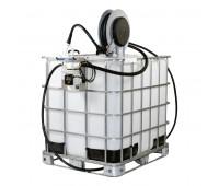Unidade de Abastecimento Básica 220V Piusi 9167 30LPM Capacidade 1000 Litros com Carretel Automático