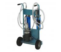 Unidade Móvel Elétrica Para Filtragem De Diesel e Óleo Lubrificante 220/380 9180-DL 28LPM