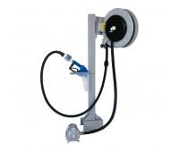Unidade de Transferência Pneumática à Granel Lupus 9197-GCM 50LPM com Bico Automático-Carretel-Medidor