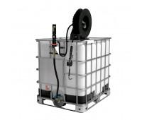 Unidade de Abastecimento Pneumática Adaptável IBC 1000L Lupus 9304-DCG7 Com Carretel