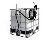 Unidade de Abastecimento Pneumática Piusi 9303-D 60LPM Cap 1000L com Medidor Digital e Bico Automático