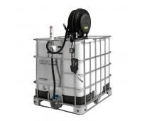 Unidade de Transferência Pneumática Piusi 9300-DC Capacidade 1000L com Carretel