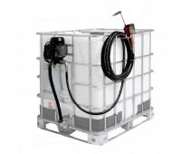 Estação de Abastecimento Eletrica 220V Piusi 9305-P Med Prog 10M Mang 1-2Pol Adp IBC 1000LT 25LPM
