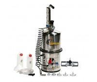 Conjunto de Sucção à Vácuo para Fluídos de Freio Lupus 9802-F Capacidade 10 Litros