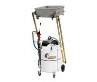 Unidade de Sucção de Óleo Pantográfica Lupus 9804 Capacidade 120 Litros para Carros e Motos