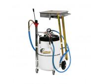 Unidade de Sucção de Óleo Pantográfica Lupus 9805 Capacidade 65 Litros para Carros e Motos