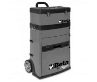 Carro para Ferramentas Tipo Trolley com 2 Módulos Beta C41H-G Cinza
