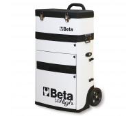 Carro para Ferramentas Tipo Trolley com 2 Módulos Beta C41H-W Branco