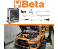 Kit Mitsubishi - Carrinho Mecânico com 81 Ferramentas Beta MBT-MIT-CR4