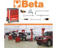 Kit Nissan - Carrinho Mecânico com 173 Ferramentas Beta MBT-NSS-CR4