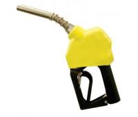 """Bico de Abastecimento Automático OPW MIX-11B-AM Amarelo Entrada e Saída 3/4"""" Ponteira 15/16"""" Alumínio"""