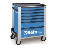 Carro para Ferramentas com 7 Gavetas Beta C24S/7-B Azul