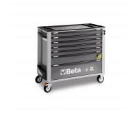 Carro para Ferramentas Longo com 07 Gavetas e Sistema Anti-Tilt Beta C24SA-XL/7-G Cinza