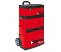 Carro para Ferramentas Tipo Trolley com 2 Módulos Beta C41H-R Vermelho