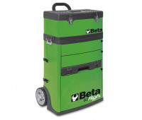 Carro para Ferramentas Tipo Trolley com 2 Módulos Beta C41H-V Verde