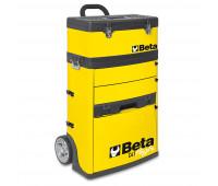 Carro para Ferramentas Tipo Trolley com 2 Módulos Beta C41H-Y Amarelo