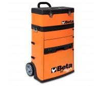 Carro para Ferramentas Tipo Trolley com 2 Módulos Beta C41H-O Laranja