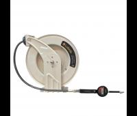 Carretel Automático Com Medidor Digital Lubmix MIX-CA12MD para Óleo Lubrificante Ø 1/2 Pol com 15MT Mangueira
