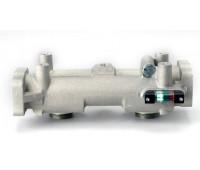 Cabeçote Duplo Donaldson 9180-I 1 1-2 Polegadas NPTF SAE 4 para Diesel e Óleo Lubriricante Bolt Com Bypass e Indicador de Saturação