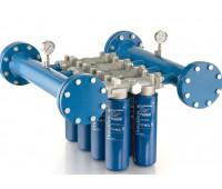 Cabeçote para Instalação em Linha Donaldson 9180-N com Capacidade de 08 Elementos Filtrantes 1893LPM