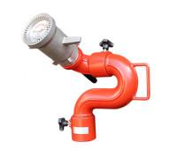 Canhão Monitor Manual para Combate à Incêndio Lupus MLP-F2304 com Esguicho Manual