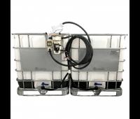 Estação Dupla de Abastecimento Elétrica 12V 30LPM Capacidade 2000 Litros com Medidor Digital Lubmix MIX-KIT312S (Lubmix)