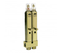 Injetor Linha Simples Lincoln K1065 2 Saídas 3-8Pol 840PSI