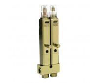 Injetor Linha Simples Lincoln K1072 2 Saídas 3-8Pol 960PSI