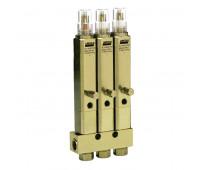 Injetor Linha Simples Lincoln K1067 3 Saídas 3-8Pol 840PSI