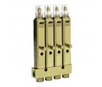 Injetor Linha Simples Lincoln K1068 4 Saídas 3-8Pol 840PSI