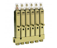Injetor Linha Simples Lincoln K1070 6 Saídas 3-8Pol 840PSI