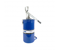 Bomba Manual Tipo Alavanca para Graxa com Reservatório Lapek LPK-00214 Capacidade de 14kg