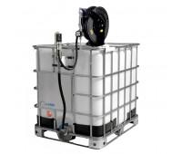Unidade Pneumática de Abastecimento com Medidor Mecânico e Carretel Lapek LPK-1000CMM 1000L 28L/Min