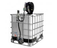 Unidade Pneumática de Abastecimento com Medidor Digital Programável e Carretel Lapek LPK-1000CMP 1000L 28L/Min